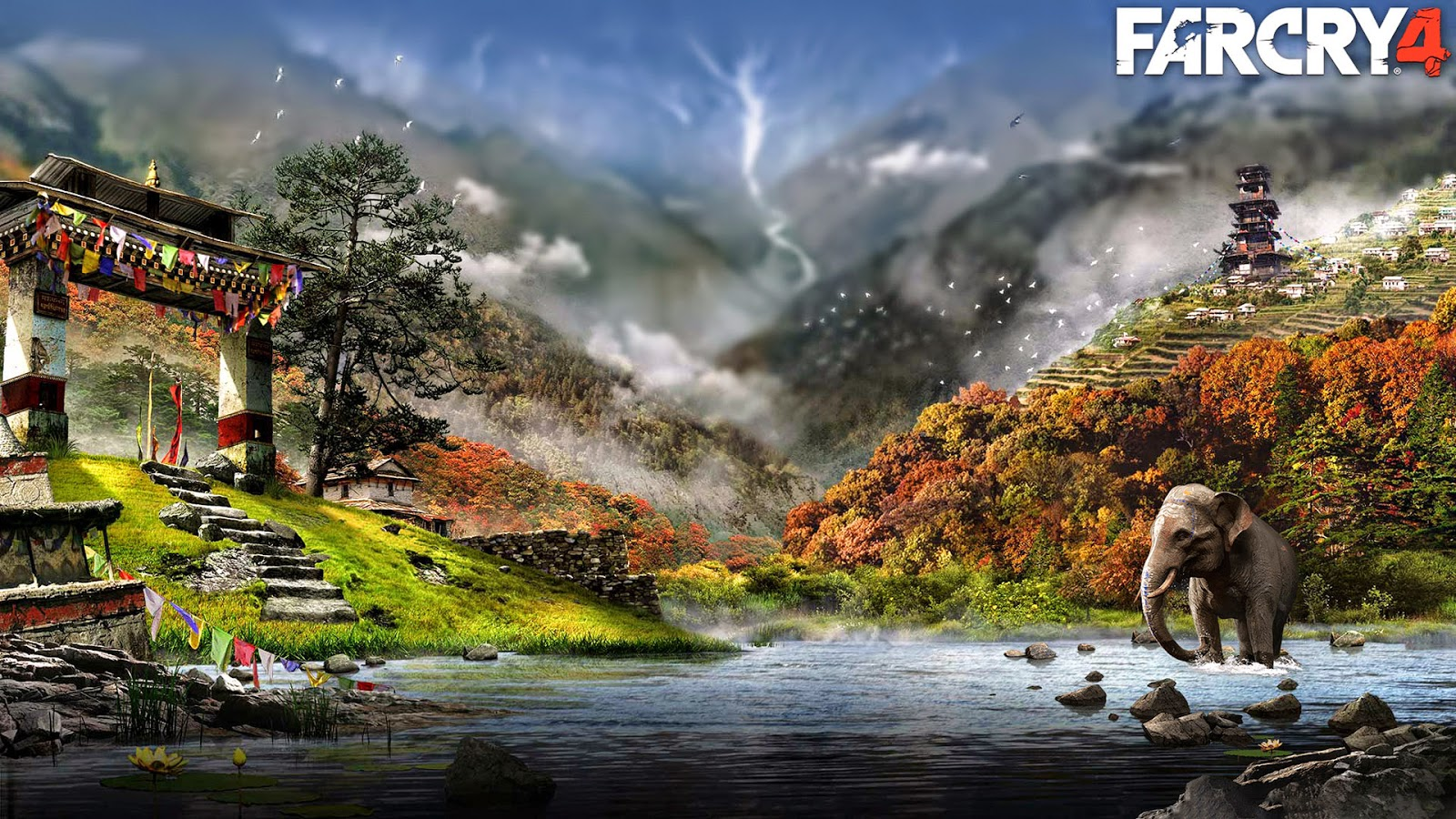 Far Cry 4 Kullanıcıya Özel Harita Tasarımı