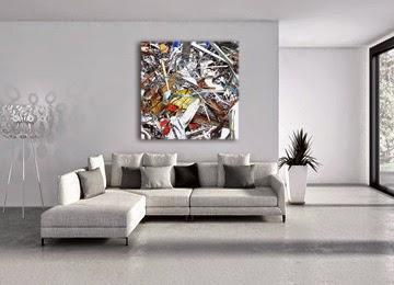 abstract art, canvas print, wall art, canvas art, multi coloured,
