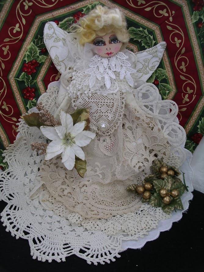 Angel cloth doll.