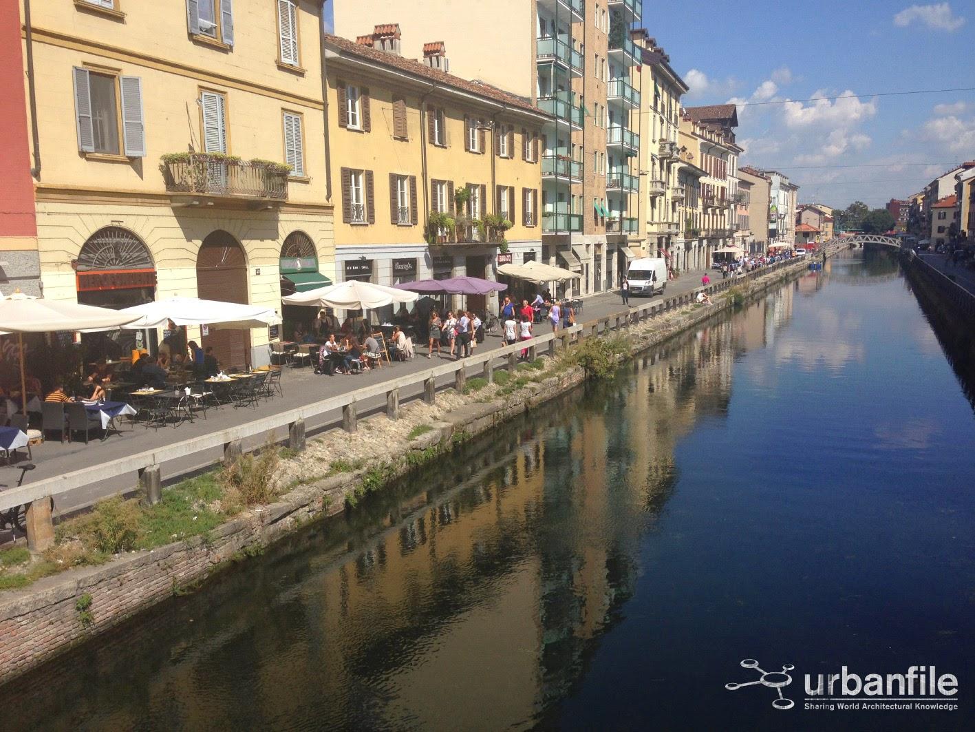 Urbanfile milano zona navigli la rizzata dell 39 alzaia - Navigli porta genova ...