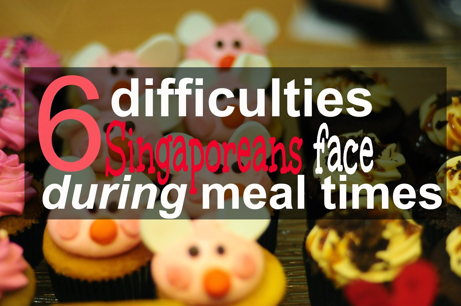 Difficulties and challenges for Singaporeans
