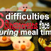 <h1>6 difficulties Singaporeans face at mealtimes</h1>