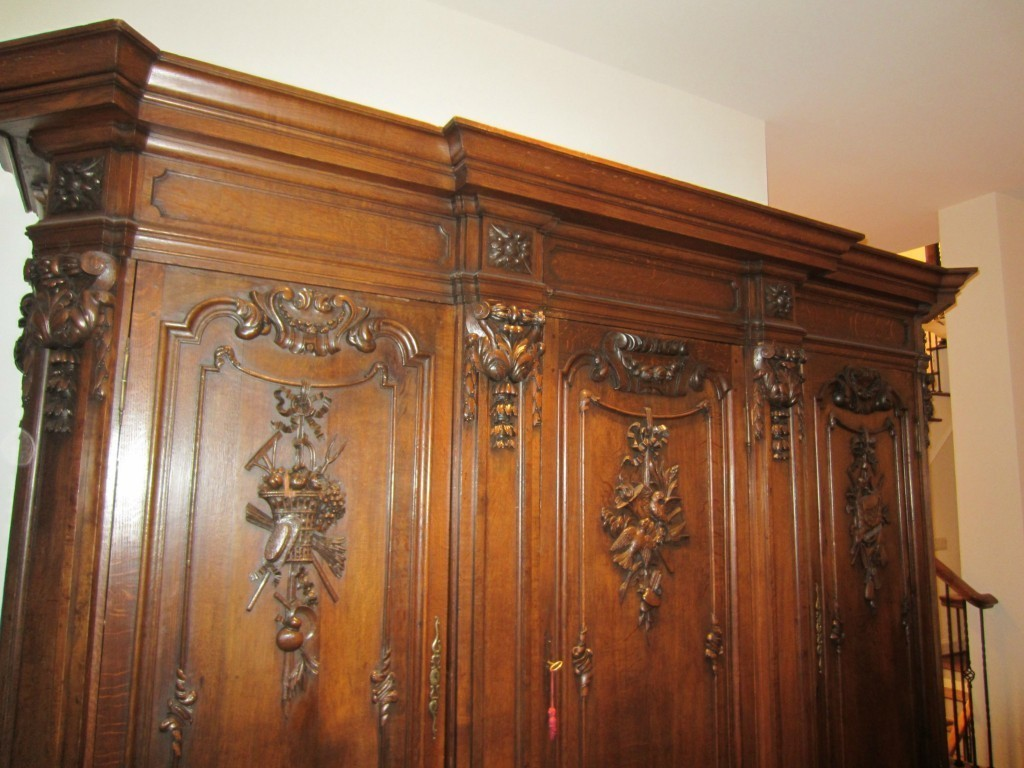 Superieur French Antique Wedding Armoire For Sale!!