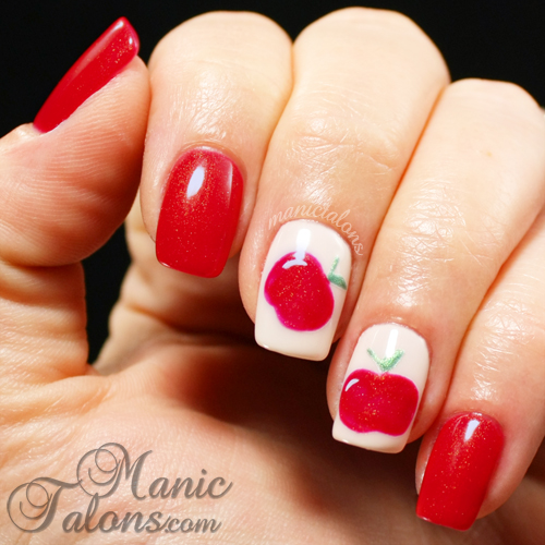 Apples with Couture Gel Polish In the Spotlight