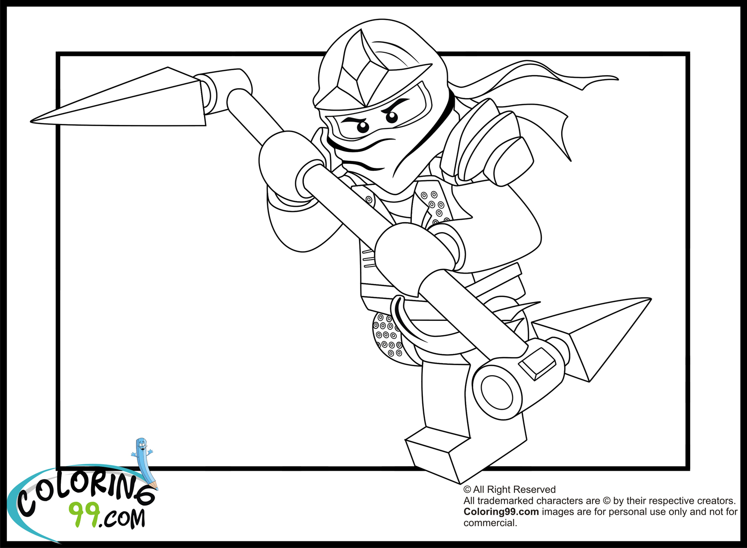 ninjago green ninja coloring pages ninjago lloyd coloring pages