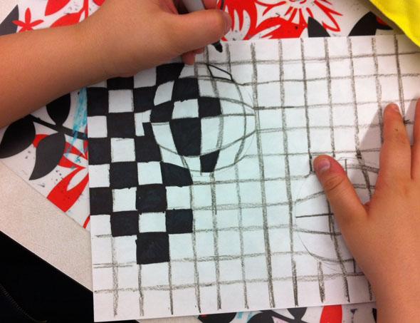 Оптические иллюзии своими руками рисовать 39