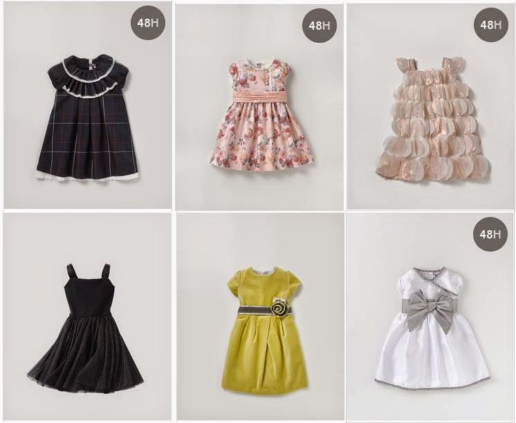 vestidos de niñas El Corte Ingles 14-15