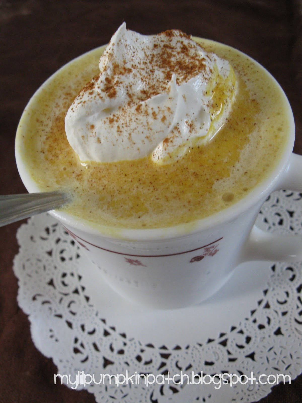 ... Pumpkin Pie Milkshake recipe from Stephanie at My Li'l Pumpkin Patch