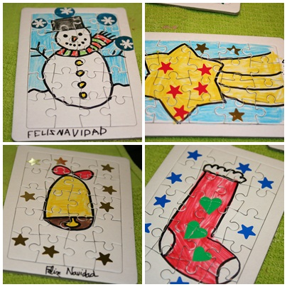 miriam hecho a mano feliz navidad with tarjetas de navidad hechas por nios