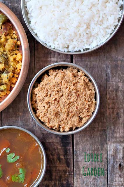 Roasted Coriander Chutney Recipe-Malli Chammanthi