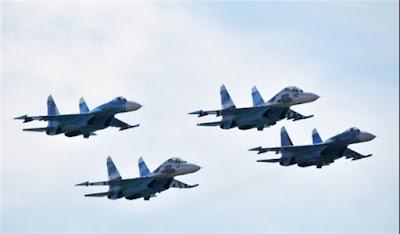 4 Jet Tempur Rusia Kawal Assad ke Iran