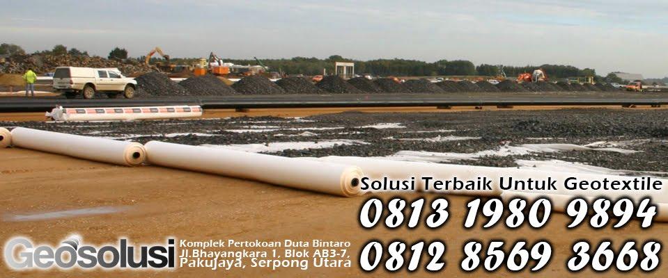 Jual Geotextile Woven di Tangerang I 0812 8569 3668