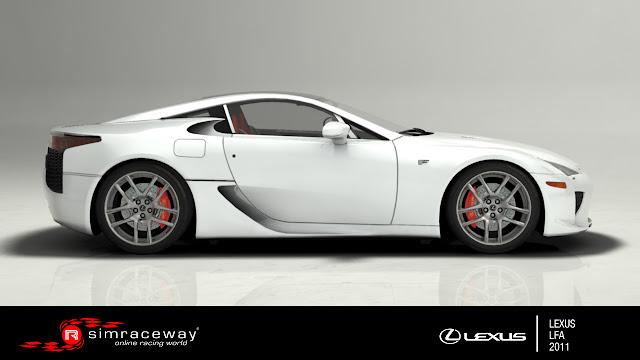 Lexus LFA 2011 Simraceway