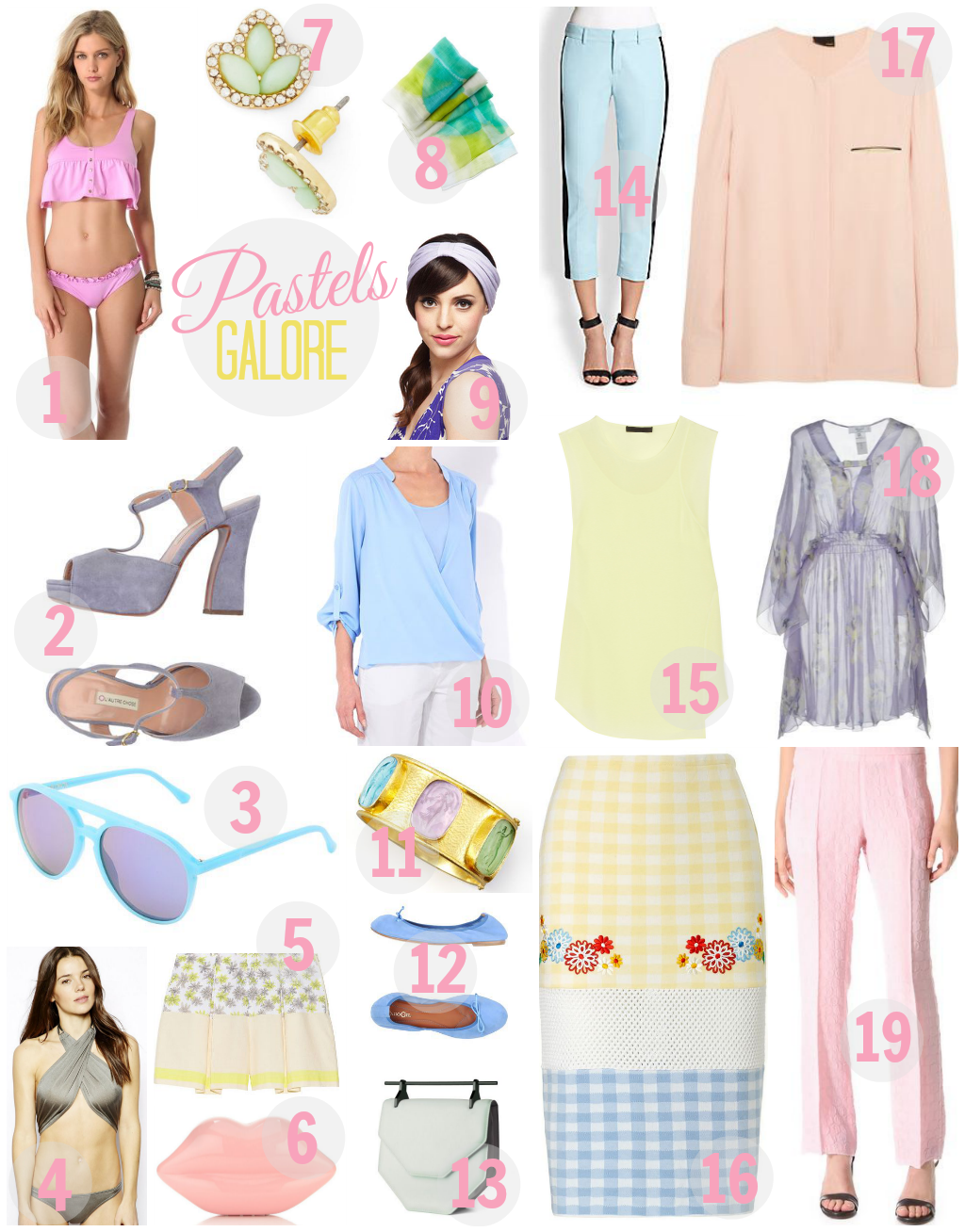 Lust List: Pastels Galore, Tanvii.com