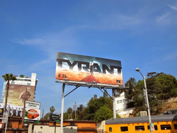 Tyrant season 1 billboard