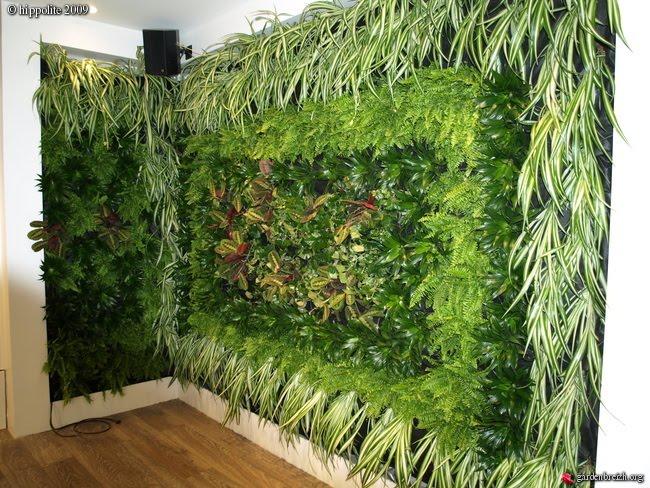 Jardin Vertical Baño:Jardines Verticales Interior