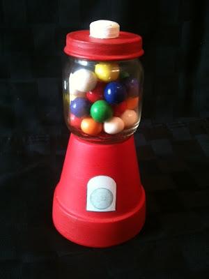 baby food jar gumball jar craft