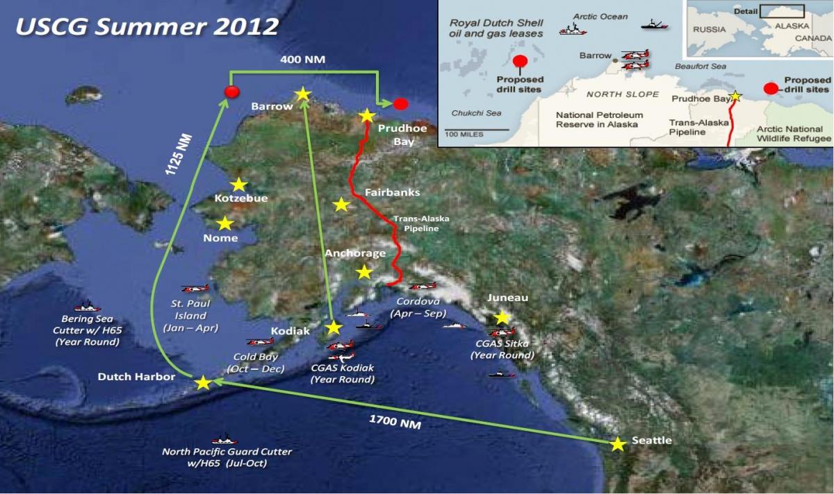 HGs WORLD - Us coast guard bases map