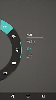 Moto G HDR mode