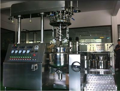 lianhe vacuum emulsifier machine