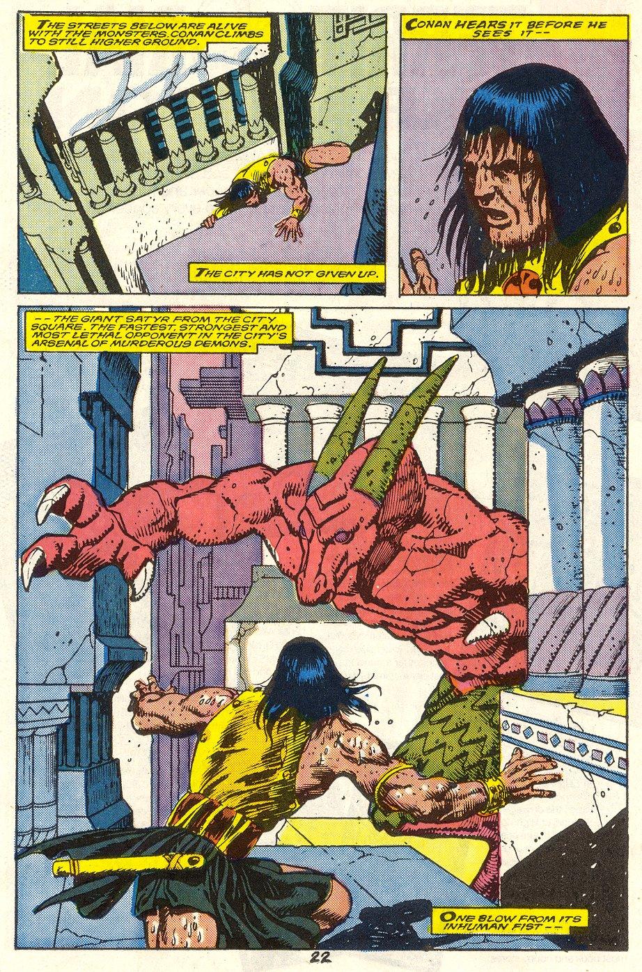 Conan the Barbarian (1970) Issue #214 #226 - English 18