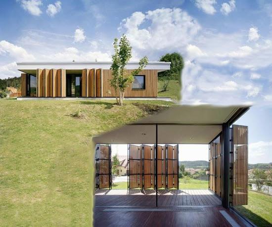 Проект инновации дома с прозрачными стенами