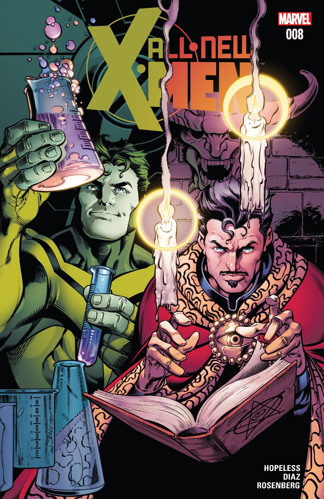All-New X-Men (2016) Issue #8 #10 - English 1