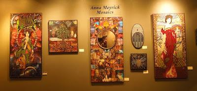 Anna Meyrick's Mosaics, photo © B. Radisavljevic