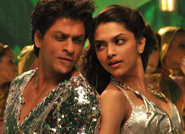 SRK and DP dance in Chennai Express