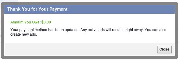 Akaun Facebook saya dah hidup semula