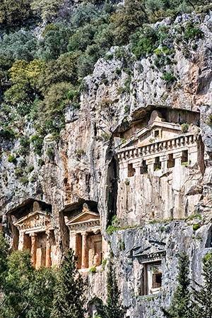 Dalyan Lycian Tombs