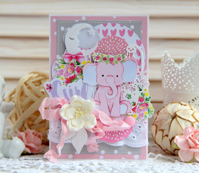Задание № 168 Открытки на день рождения розовый для девочки/голубой для мальчика до 03/11
