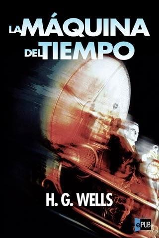 portada, libro, máquina del tiempo, time machine, Wells