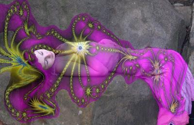 Relato aborígen sobre la creación del mundo Princesa+serpiente+de+luz