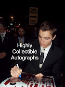 Dave Franco also signed my cast piece 12x18.