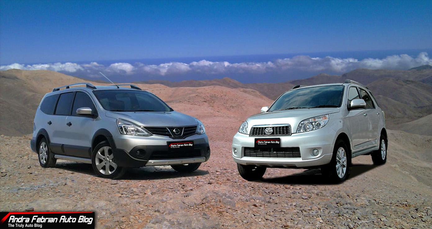 Nissan juke vs daihatsu terios