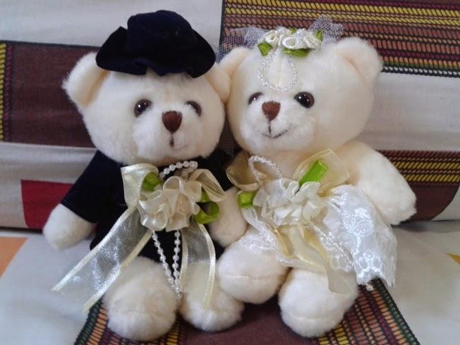 Gambar boneka teddy bear romantis banget