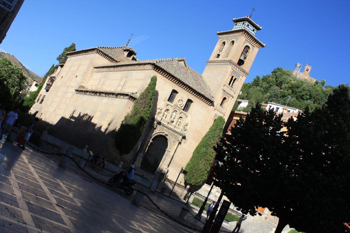 Spain granada medieval and sacromonte beautiful places - Santa ana granada ...