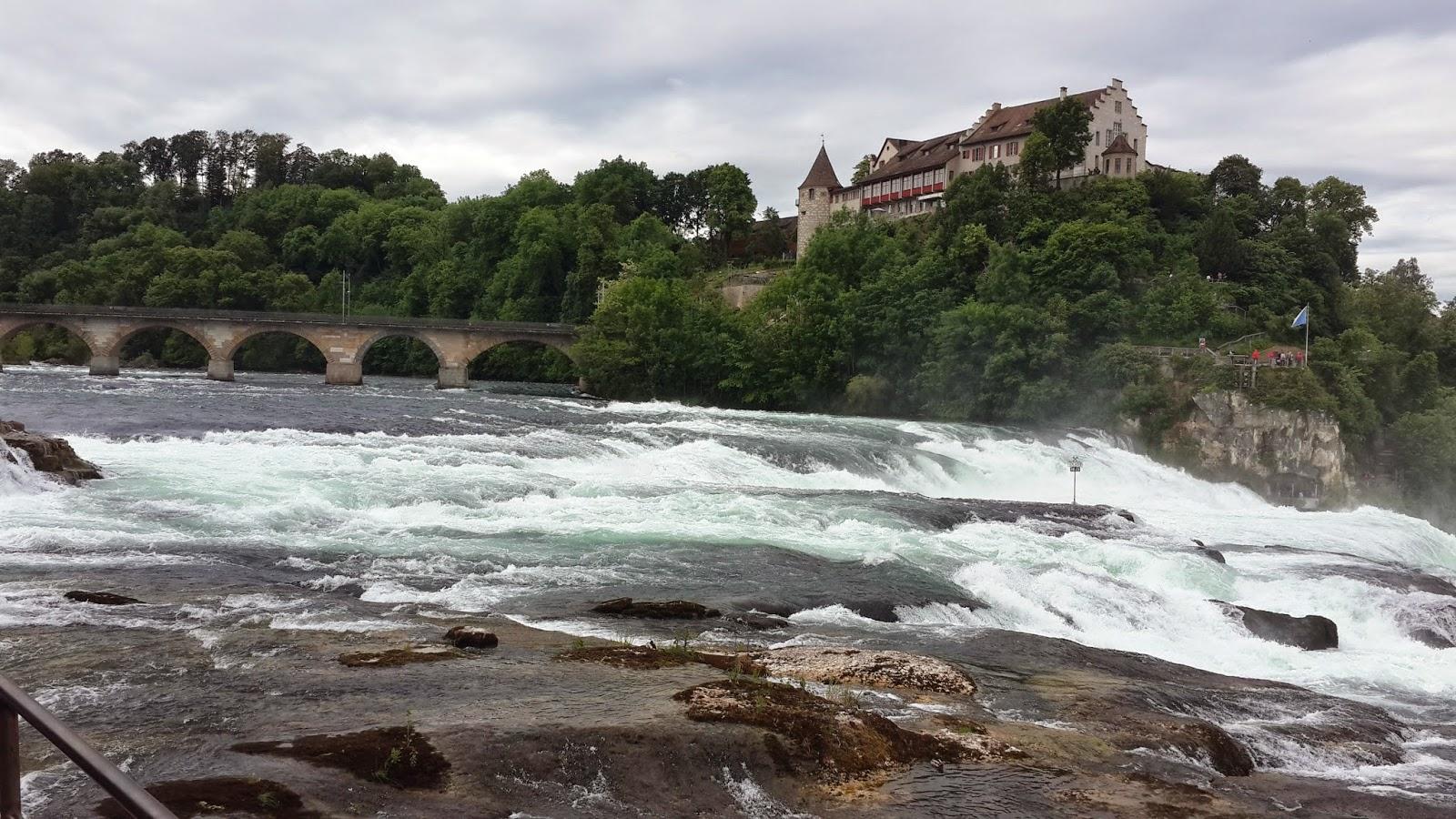 Schloss Laufen castle Zurich rhinefalls