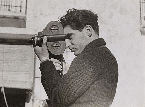 El famoso reportero Robert Capa