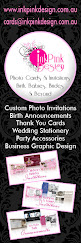 9. InkPink Design - Photo Invitations & Announcement Cards