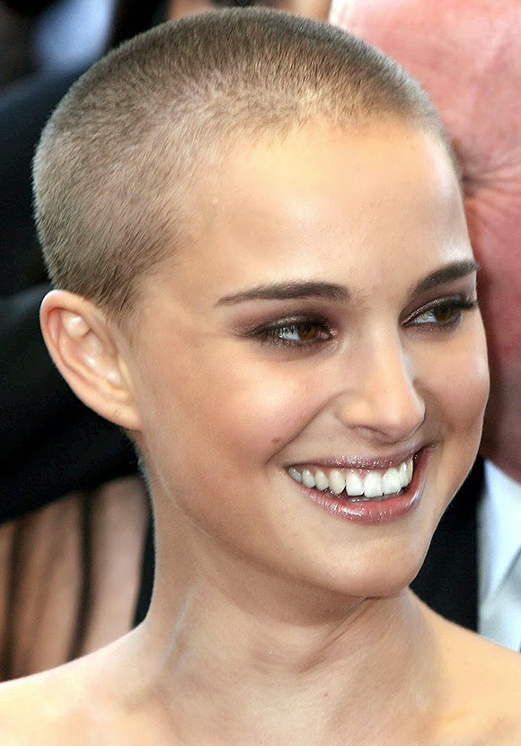 Natalie portman shaved her head question You