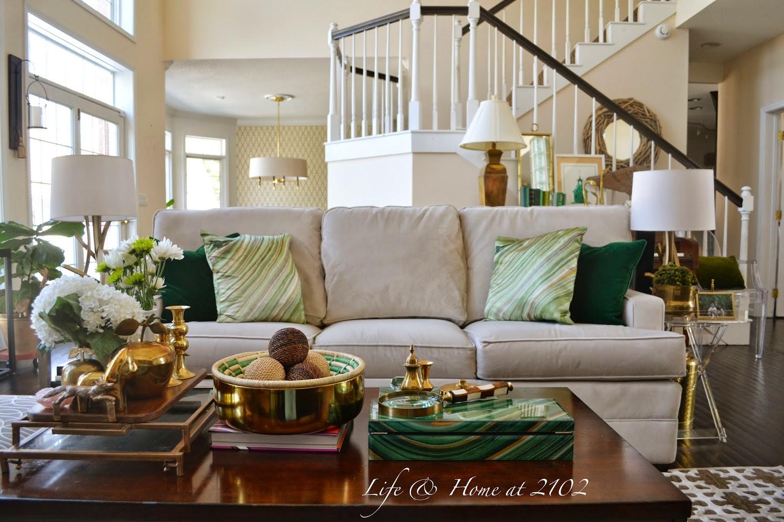 Life \u0026 Home at 2102: Spring Living Room