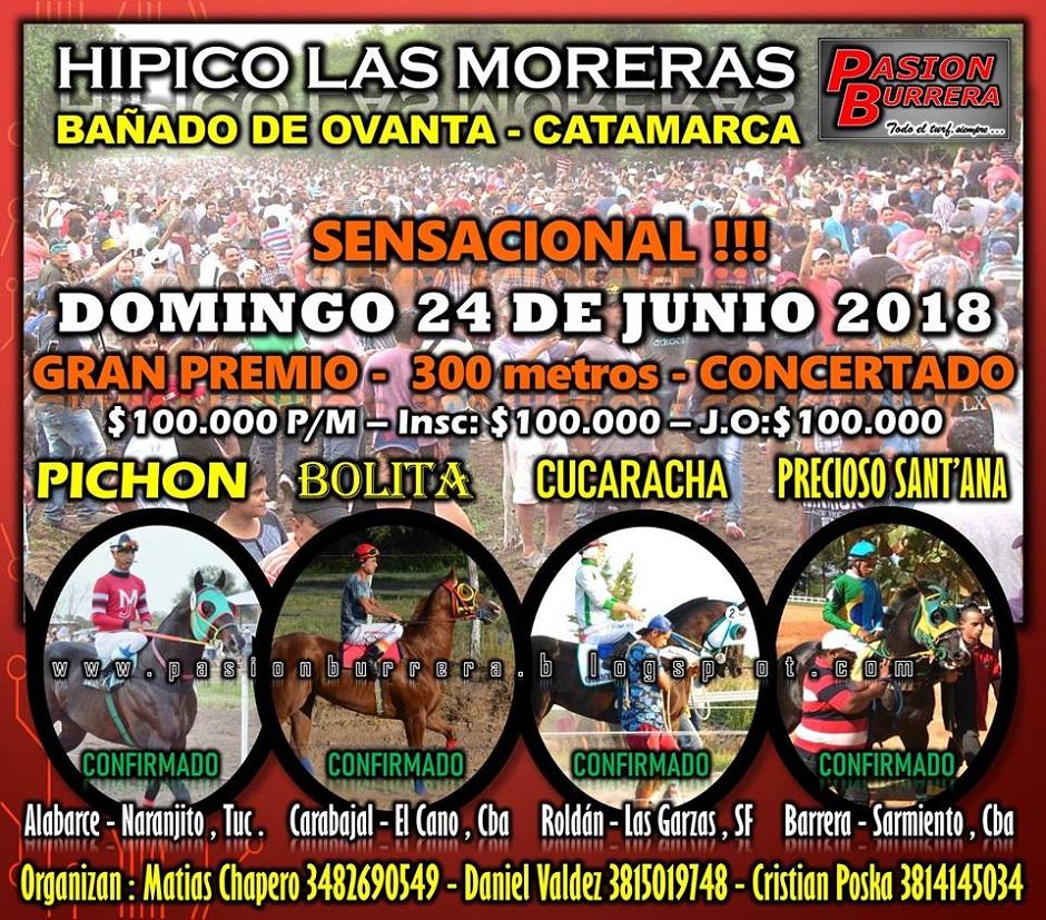 LAS MORERAS - 24 DE JUNIO - 300