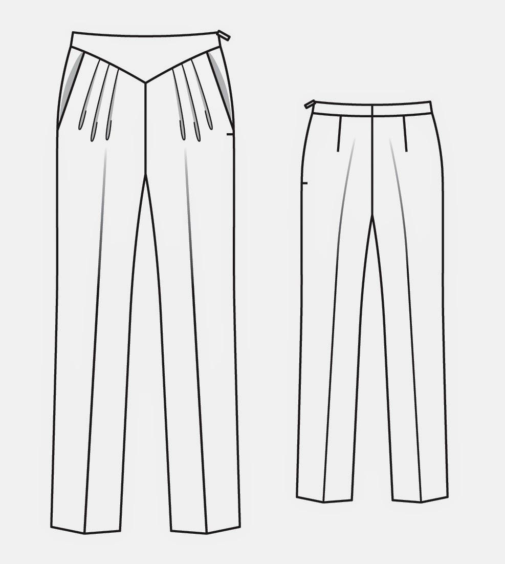 Как сшить модные брюки своими руками 93