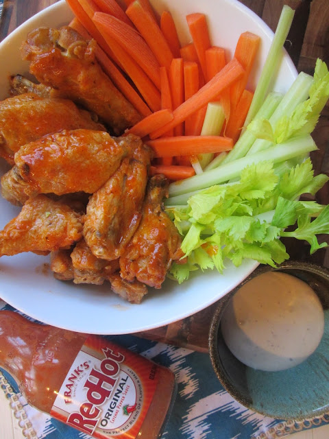 Stirring the Pot: Ellie Krieger's Broiled Buffalo Wings