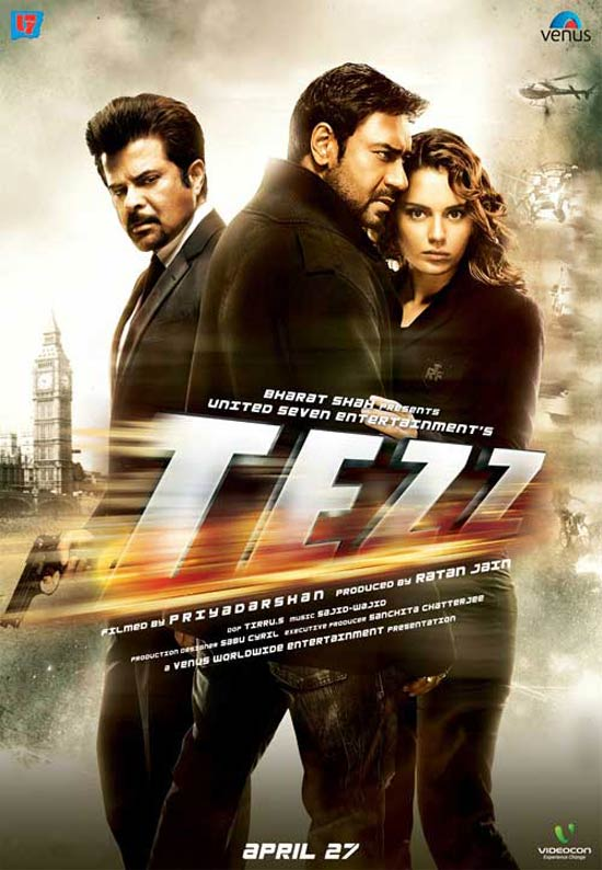 Top Songs: Tezz 2012 Hindi Movie Audio Songs
