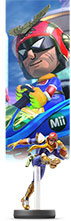 Captain Falcon Mii amiibo Mario Kart 8 compatibility