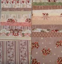 August mystery quilt fabrics