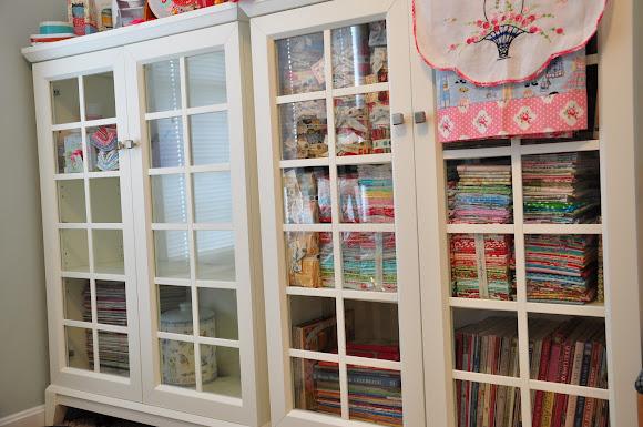 Fabric Shelves Closed